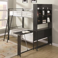 Fusion Bookcase Bunk Beds
