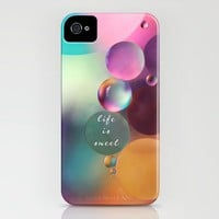 life is sweet iPhone Case by Sylvia Cook Photography | Society6