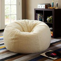 Sherpa Small + Large Beanbags | PBteen