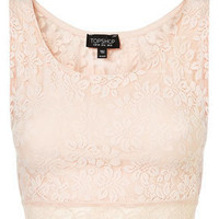 Lace Crop Top - Tops - Apparel - Topshop USA