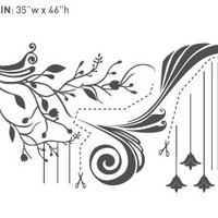 Surface Collective's Wall Tattoos / Wall Decals / Laptop Decals - Product - In Bloom