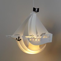 Jolly Roger Lamp Shade