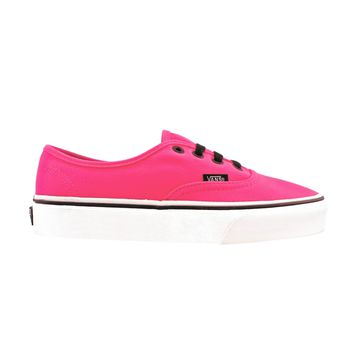 vans authentic skate shoe neon pink journeys shoes