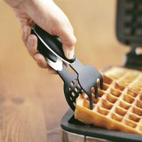 Silicone-Tipped Waffle Tongs | Williams-Sonoma