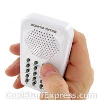 Hand-Held Sound Effects Machine Annoying Sounds Edition, Fun & Unique Gifts