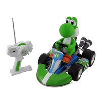 Mario Kart Radio Control Yoshi 1/8th Scale at Brookstone—Buy Now!