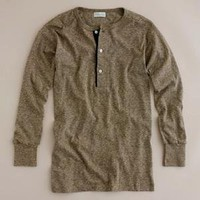 Men's tees, polos & fleece - long-sleeve tees - Heller's Café? by Warehouse jacquard border henley - J.Crew