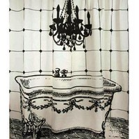  Luddite Shower Curtain