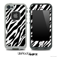 Fancy Zebra Skin for the iPhone 5 or 4/4s LifeProof Case