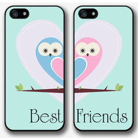 Best friends. Owl. Heart. iPhone 5 case, iPhone 5 cover