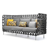 Kenneth Cobonpue Cabaret Sofa - Outdoor - Style # SCB-8439OD, Modern and contemporary outdoor sofas at SWITCHmodern.com