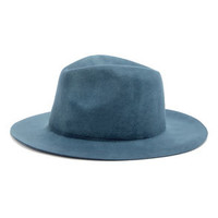 Rhythm The Pocket Slate Blue Fedora Hat