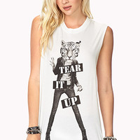 Tear It Up Muscle Tee | FOREVER 21 - 2000076219