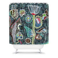 DENY Designs Home Accessories | Mikaela Rydin Winters Bloom Shower Curtain