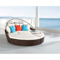 Dreamscrape - synthetic weaving chaise lounge