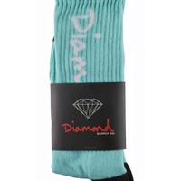 Diamond Supply Co OG Script Knee High Socks