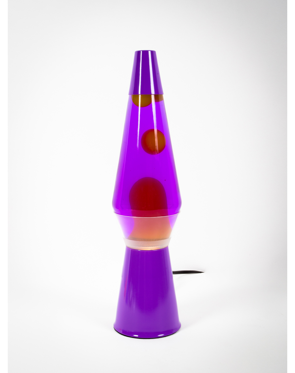 lava lamp with yellow lava purple liquid from spencers gifts. Black Bedroom Furniture Sets. Home Design Ideas