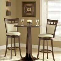 Dynamic Designs Pub Table - Hillsdale 4975PTBBRN