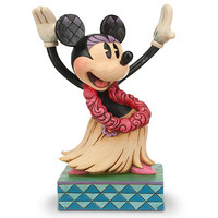 Disney Minnie Mouse ''Holiday Hula'' Figure by Jim Shore | Disney Store