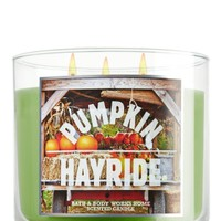 Pumpkin Hayride 14.5 oz. 3-Wick Candle   - Slatkin & Co. - Bath & Body Works