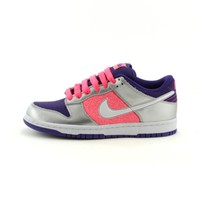 Womens Nike Dunk Lo 6.0 Athletic Shoe, Purple Silver Pink, at Journeys Shoes