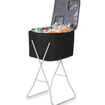 Black Party Cube Portable Party Cooler