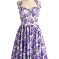 Hydrangeas Dress | Mod Retro Vintage Dresses | ModCloth.com