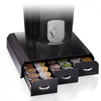 "Mind Reader ""Anchor"" Coffee Pod Storage Drawer for 36 Keurig K-Cup, 42 CBTL/Verismo Coffee Pods, Black:Amazon:Kitchen & Dining"