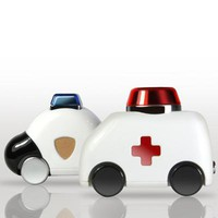 Ambulance and police car USB 8GB  - MollaSpace.com