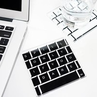Keyboard coaster  - MollaSpace.com