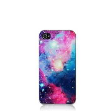 Angel Wings Galaxy Space Universe Snap On Hard Case Cover Protector for iPhone 4 4S (7)