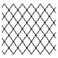York Wallcoverings YS9100 Peek-A-Boo Graphic Trellis Wallpaper, White/Black:Amazon:Home Improvement