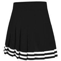 Double-Knit Knife-Pleat Cheer Uniform Skirt