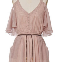 Trendy & Cute Clothing - Chloe Loves Charlie - Blushing Drifter Dress - chloelovescharlie.com | $42.00
