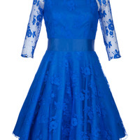 Kate Fearnley Azul Gracy Vestido