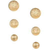 Gold Angel Dust Earring Set