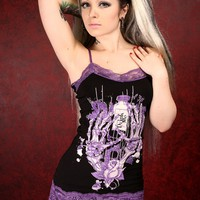 Camille Tanktop - Drink Me :: VampireFreaks Store :: Gothic Clothing, Cyber-goth, punk, metal, alternative, rave, freak fashions