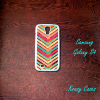 Samsung Galaxy S4 Case, colorful chevron Samsung Galaxy S4 case, Samsung Galaxy S3 Cases, Galaxy  S3 case