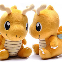 "6"" Dragonite Chibi Pokemon Plush Toy Stuffed Soft Gorgeous Cute"