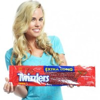 "Extra Long Giant 16"" Twizzlers Candy"