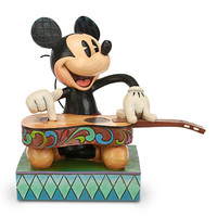 Disney Mickey Mouse ''Island Melody'' Figure by Jim Shore | Disney Store