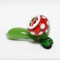 Glass Pipe Monster Plant by Hedcraft