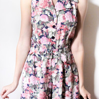 tea and tulips boutique - one of a kind vintage. — flower power romper