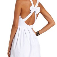 Bow Back Millennium Dress: Charlotte Russe