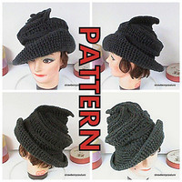 Ravelry: Cloche Steampunk Church Hat pattern by Lenore Berry-Zaragosa