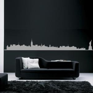 Skyline New York City  wall sticker Hu2 Design