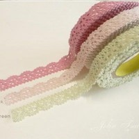 Rural Wind Only Beautiful Multi-function Adornment Masking Lace Tape:Amazon:Office Products