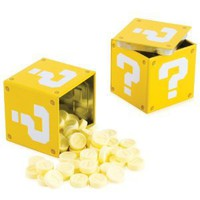 Nintendo Super Mario Bros. Question Mark Box Coin Candies