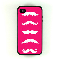 Iphone 4 Case iphone case  Mustache Iphone 4s Case by fundakcases