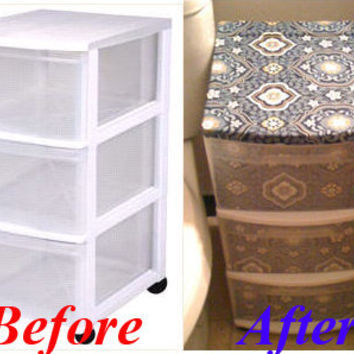 Plastic Drawer Facelift